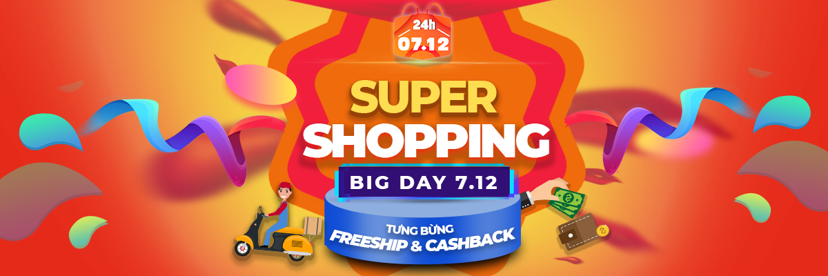SUPER SHOPPING - Big Day 07.12