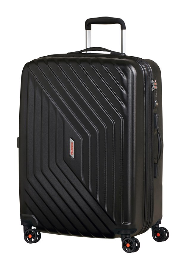 Vali American Tourister DI0*79003 Air Force+ Spinner 79/29 Exp TSA - Galaxy Black