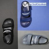 Giày sandal nam nữ quai ngang thời trang PP1472 Paperplanes