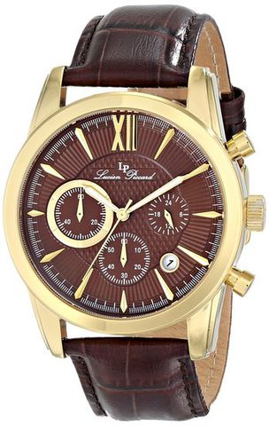Đồng hồ nam Lucien Piccard LP-12356-YG-04 Japanese Quartz
