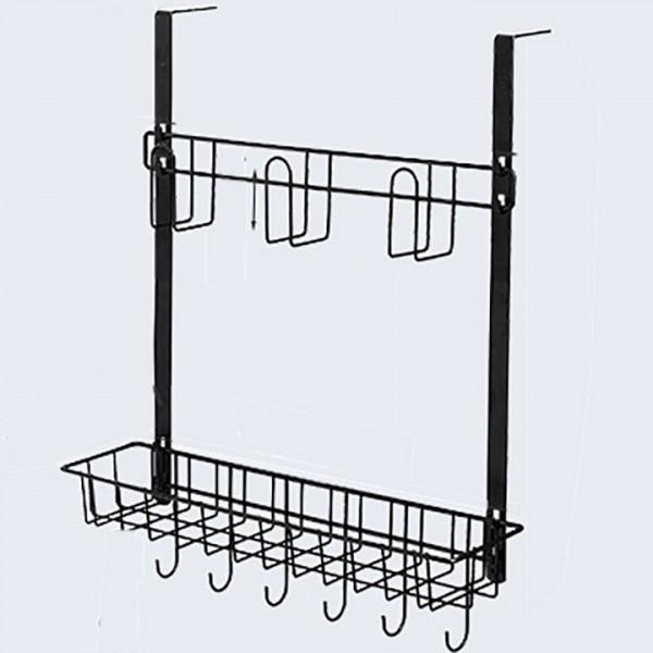 Gía Inox 2 Tầng Treo Cạnh Tủ Lạnh Tủ Bếp A15719-2
