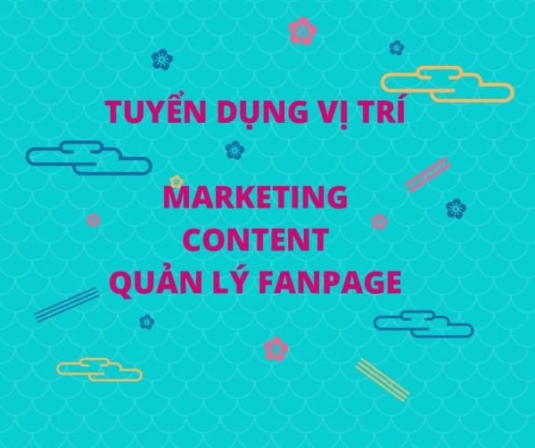 [Online Friday] Ngày Mua Sắm Trực Tuyến - Tuyển Dụng 01 Chuyên viên Content và quản trị Fanpage