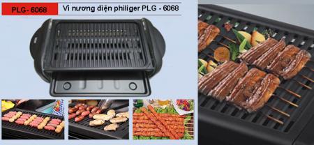 Vỉ Nướng Điện Philiger PLG-6068 bảo hành 18 tháng