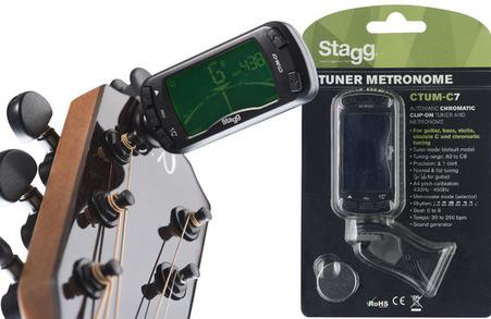 Máy Lên Dây Đàn Guitar + Đập Nhịp CTUM-C7