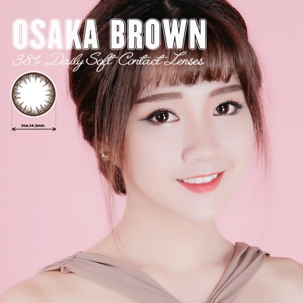 Kính áp tròng dùng 1 ngày Eye Secret màu Osaka Brown