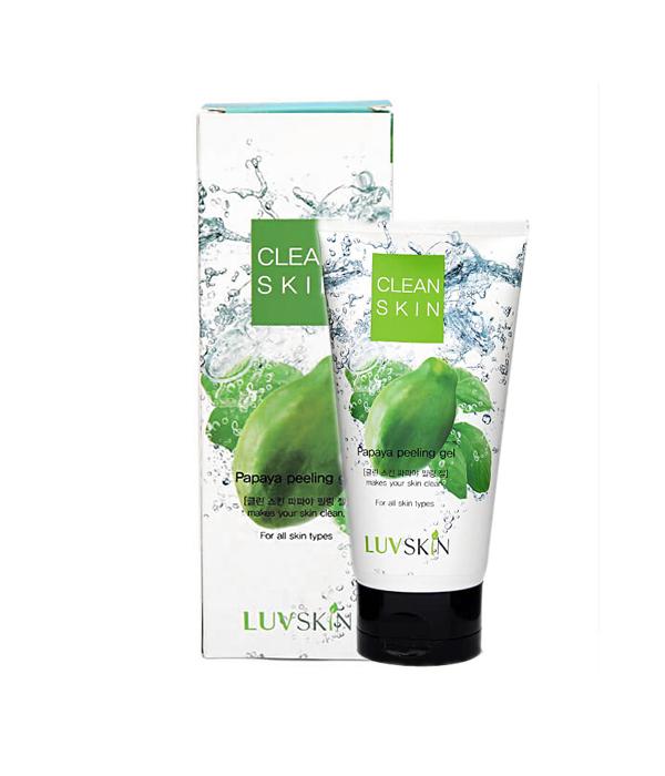 Tẩy tế bào chết chiết xuất đu đủ LUVSKIN Clean Skin