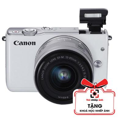 Máy ảnh Canon M10 KIT 15-45mm - Đen