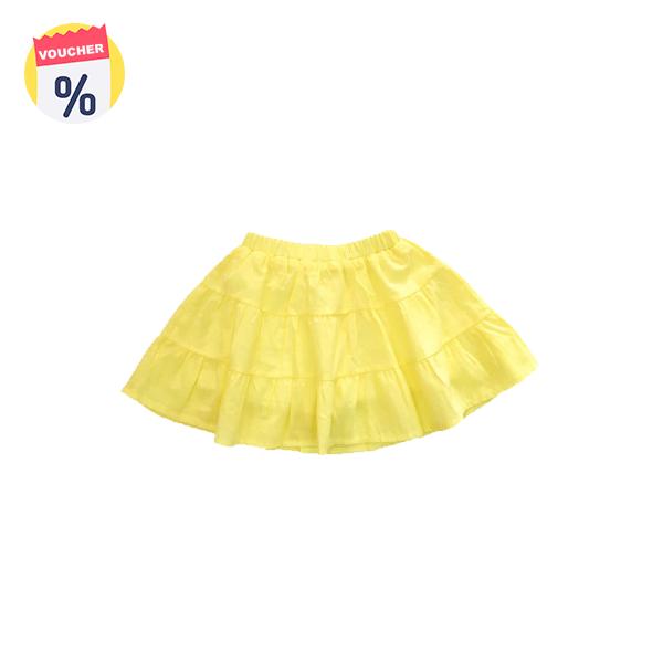 Mua ngay Voucher chỉ với 69.000 VND Mẹ sắm cho bé Chân váy bé gái 3 tầng màu vàng ( sz 7 tuổi - 11 Tuổi) của Vinakids (Giá niêm yết: 120.000 VND)