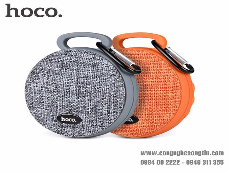 Hoco - Loa Bluetooth thể thao không dây - BS7 - Móc treo - Bọc vải thời trang