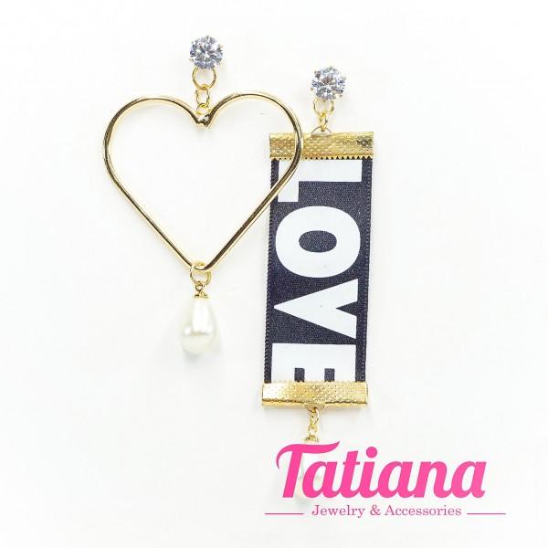 Bông Tai BĐX Tim Love - Tatiana - BH3223