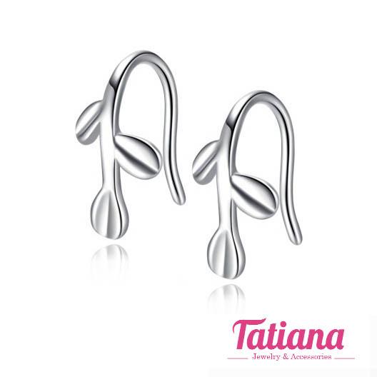 Bông Tai Vành Lá - Tatiana - BB3207
