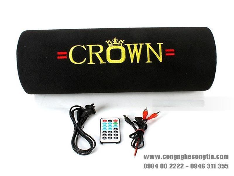 Loa Thẻ nhớ/USB CROWN Nguồn điện +12V - cỡ số 4