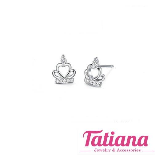 Bông Tai Vương Miện Nhỏ - Tatiana - B2761