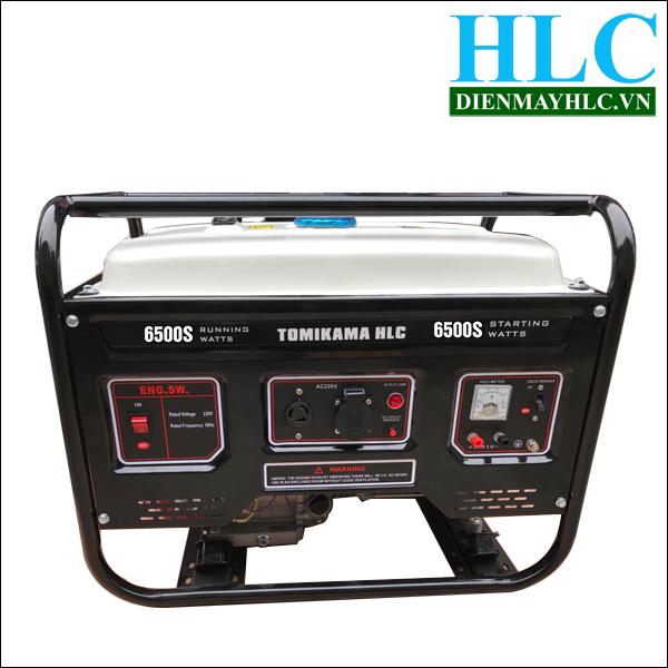 Máy phát điện Tomikama chạy xăng 6500S