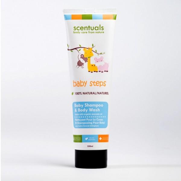 Dầu gội và sữa tắm cho bé - Baby Shampoo & Bodywash 250ml
