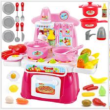 Đồ chơi nhà bếp có nhạc - màu hồng