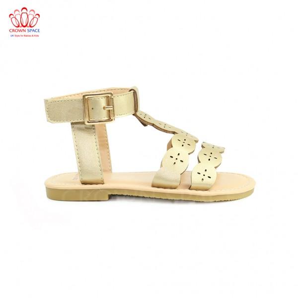Sandals bé gái Crown UK Princess Sandals CRUK7012 màu Vàng
