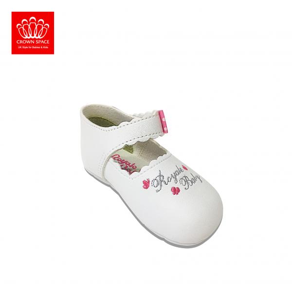 Giày tập đi Royale Baby Fashion Shoes 051_1048 màu Trắng