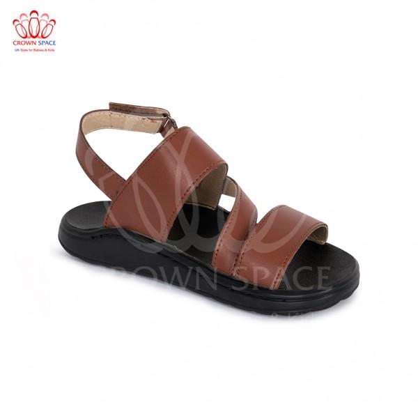 Sandals bé trai Crown UK London Fashion Sandals CRUK649 màu nâu