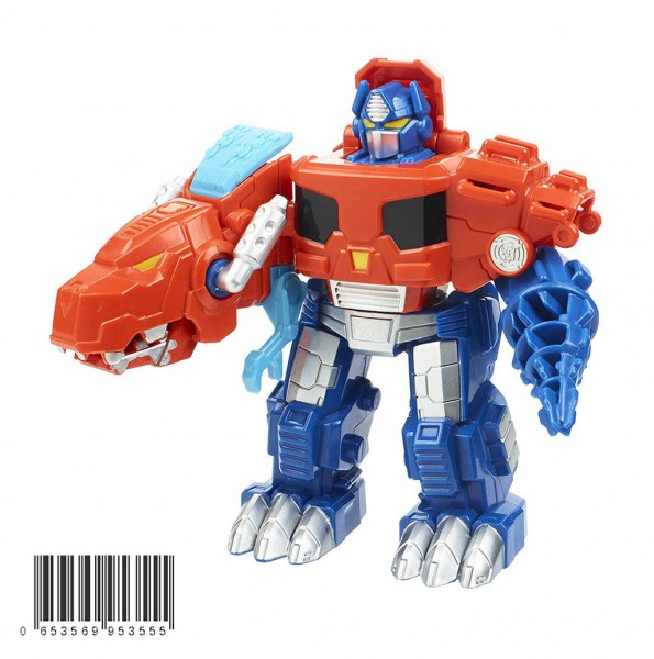 Đồ chơi Robot Transformer Playskool Heroes Rescue Bots Optimus Prime Dinosaur