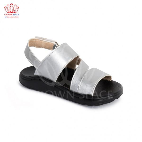 Sandals bé trai Crown UK London Fashion Sandals CRUK648 màu bạc