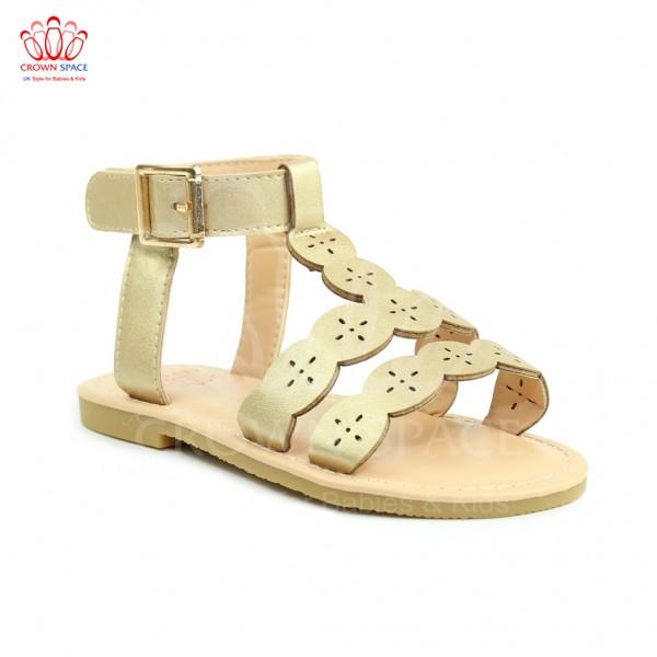 Sandals bé gái Crown UK Princess Sandals CRUK7013 màu Vàng