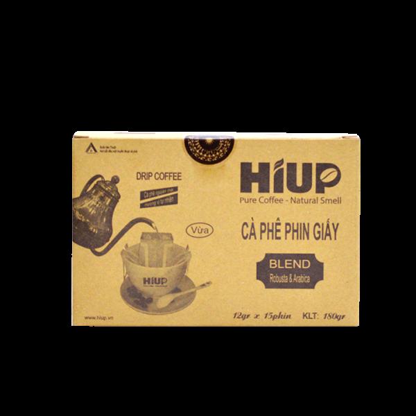 Cà Phê Phin Giấy Hiup Coffee - Hộp 15túi x 12g