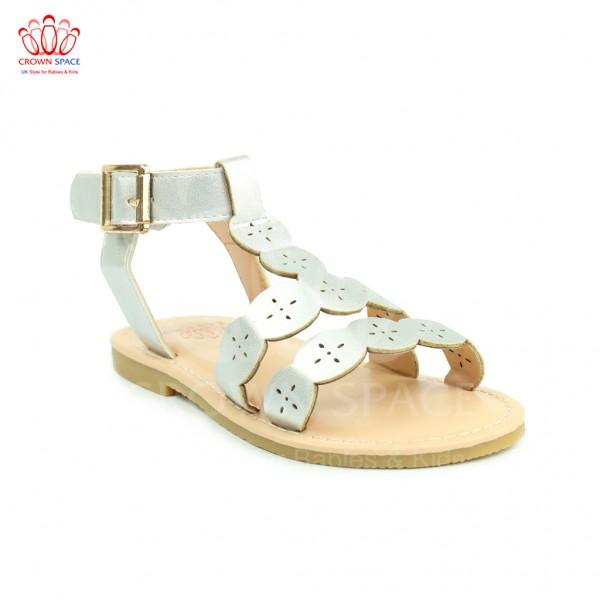 Sandals bé gái Crown UK Princess Sandals CRUK7013 màu Bạc