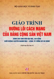 Giáo trình đường lối Cách Mạng của Đảng Cộng Sản Việt Nam - NXB Chính Trị Quốc Gia Sự thật