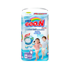 Bỉm - Tã quần Goo.N Renew Slim size XL 42 miếng (Cho bé 12 - 17kg)
