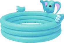 Bể phao 3 tầng hình voi (có vòi phun nước) Bestway 53048