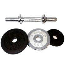 Tạ miếng mạ Inox 5 kg (Màu đen)