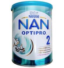 Sữa Nan Nga Optipro số 2 cho bé 6 - 12 tháng tuổi 800g