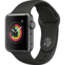 Apple Watch S3 GPS 38mm viền nhôm, dây cao su