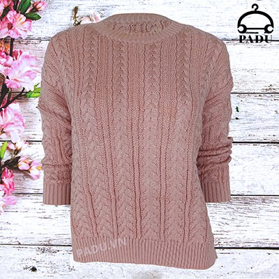 Áo len nữ hồng Q18AW03-H