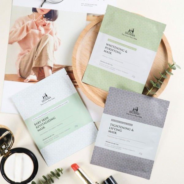 COMBO Sheet Mask siêu dẫn Collagen