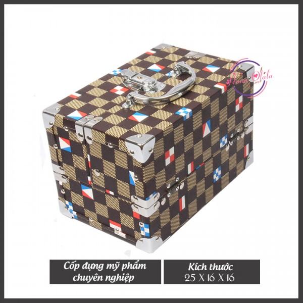 Cốp Đựng Mỹ Phẩm Chuyên Nghiệp Caro Color 25x16x16