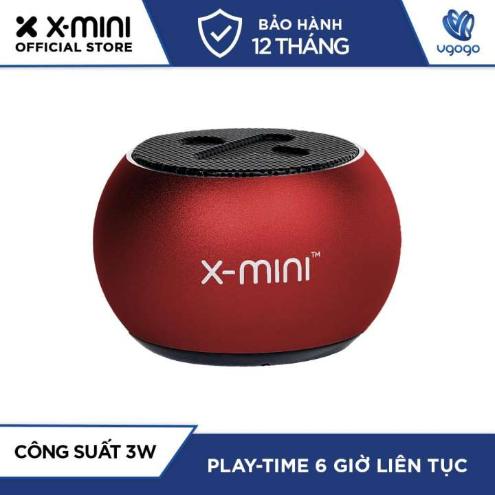 Loa Bluetooth X-mini™ CLICK 2 (Đỏ) - Nhà Phân Phối chính hãng.