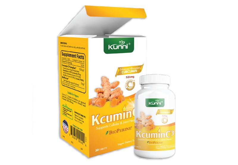Kunni KCuminC3 - Chiết xuất Nghệ & Tiêu đen USA