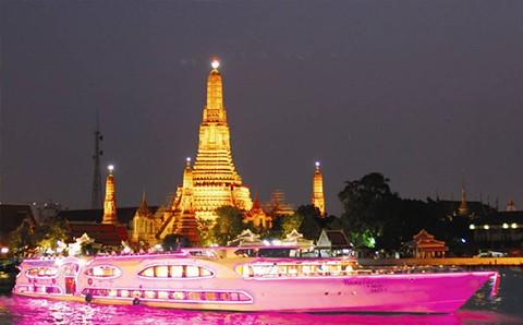 Vé Buffet Tối Trên Du Thuyền Grand Pearl Bangkok