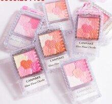 Phấn má hồng có nhũ Canmake Glow Fleur Cheeks Nhật Bản