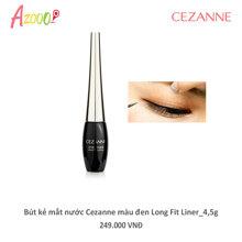 Bút kẻ mắt nước Cezanne màu đen Long Fit Liner 4,5g_05155
