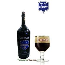 Bia Chimay xanh chai lớn 300cl ( 3L ) Chimay blue Pères Trappist Grand Reserve ( Bia Bỉ )