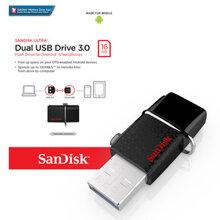 USB SanDisk Dual OTG USB Drive DD2 16G (SDDD2-016G-GAM46)