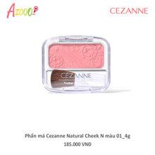 Phấn má Cezanne Natural Cheek N màu 01 4g_02918