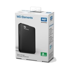 Ổ cứng di động WD Elements Portable 2TB 2.5 - USB 3.0