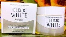 Kem massage mặt Shiseido Elixir Whitening Tone up làm trắng