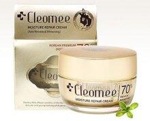 Kem Cleomee Moisture Repair Cream sữa lừa dưỡng trắng da