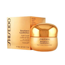 Kem dưỡng đêm bảo vệ da Shiseido Benefiance NutriPerfect Night Cream