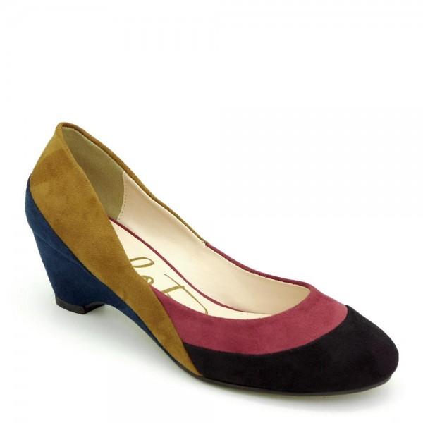 Giày cao gót bít mũi Carlo Rino 333010-271-14 màu đỏ